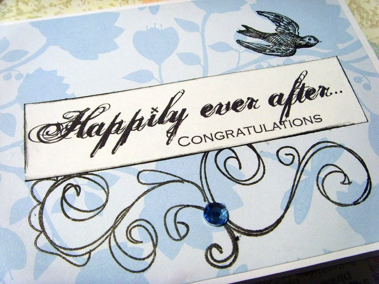 Happily Ever After - Wedding Greeting Card