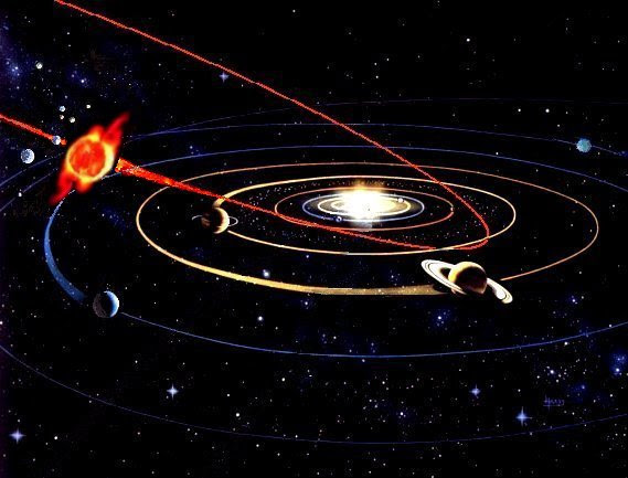 The Dark Star plunges into the Solar System