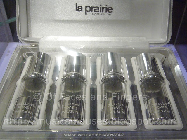 la prairie cellular power infusion serum set