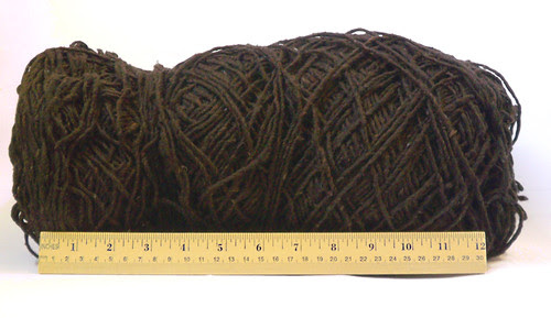Giant log o' yarn