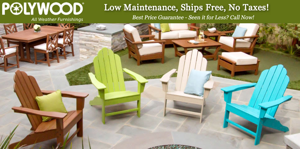 Buy Plastic Outdoor Furniture : POLYWOOD Outdoor Furniture ...
