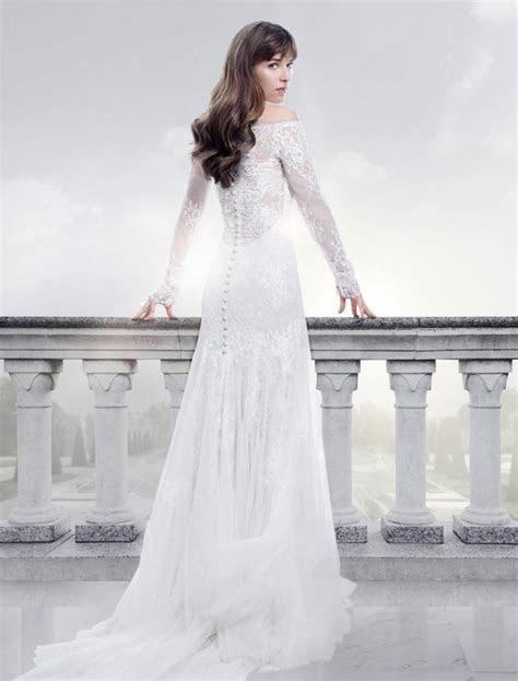 How Does Dakota Johnson's Fifty Shades Wedding Dress Rank