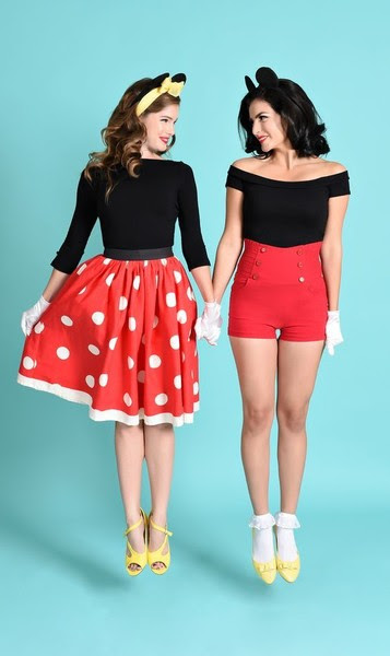 Mickey And Minnie Creative Halloween Costume Ideas For You And