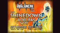 Avalanche Tour featuring Shinedown pre-sale password for early tickets in Corpus Christi