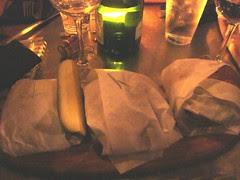 Slider sandwiches trio