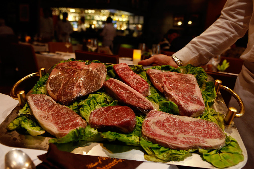 House of Wagyu: Different kinds of steak