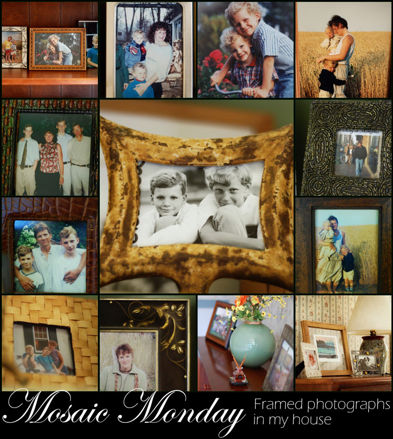 Mosaic Monday: Pictures in frames