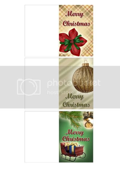Christmas printable gift tags from GraphicLand