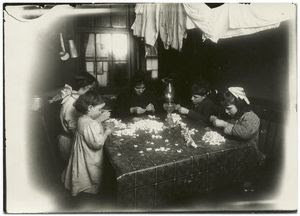 Making artificial flowers Digital ID: 416497. New York Public Library