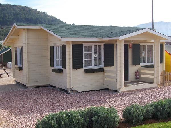 Casas de madera prefabricadas venta de casas de madera en for Casas modulares galicia