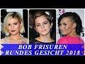 Kurzhaarfrisuren Damen 2018 Rundes Gesicht