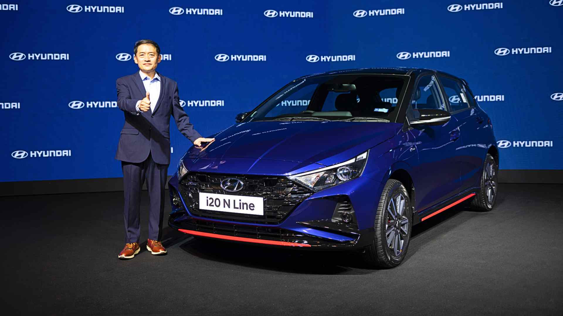 The i20 N Line will only be sold via Hyundai's Signature outlets. Image: Hyundai