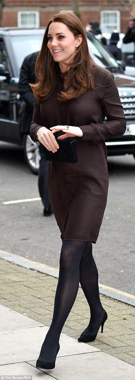 Księżna Cambridge w Fostering Network.
