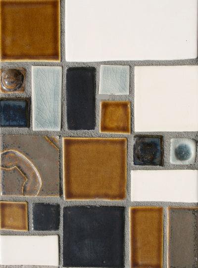 Delphine Twilight Hand Painted Tile