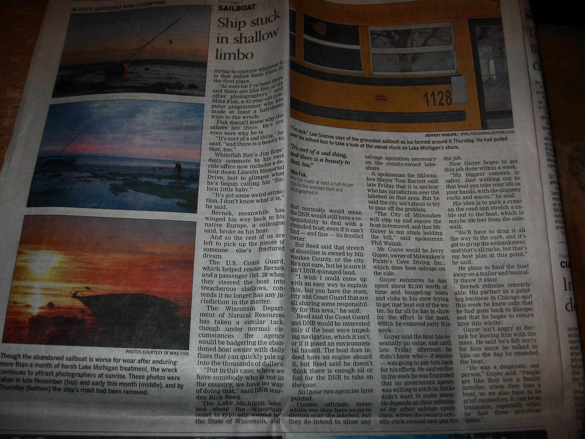 Chinook 34 Falcon - Journal Jentinal - Lead Story - Mike Fisk Pics -- soul-amp.com