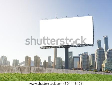 Highway Billboard Stock Photos, Royalty-Free Images & Vectors ...