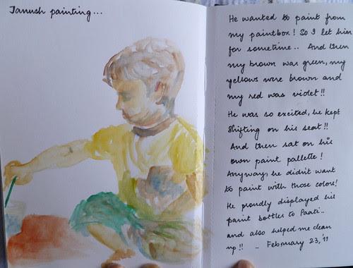 Tanush painting