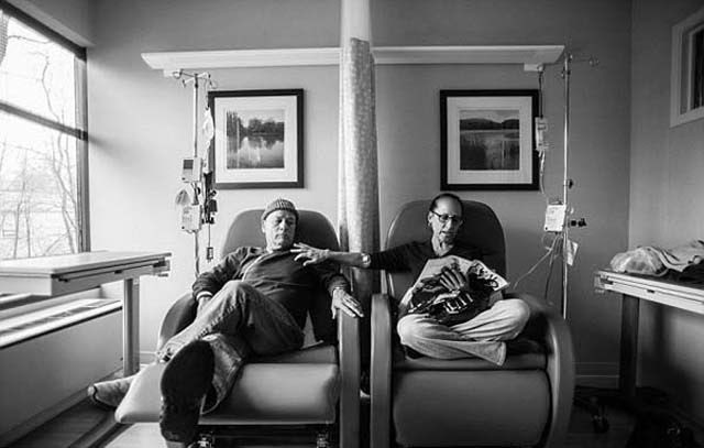 A Heartbreaking Photo Journey of a Couple's Combined Cancer Struggle