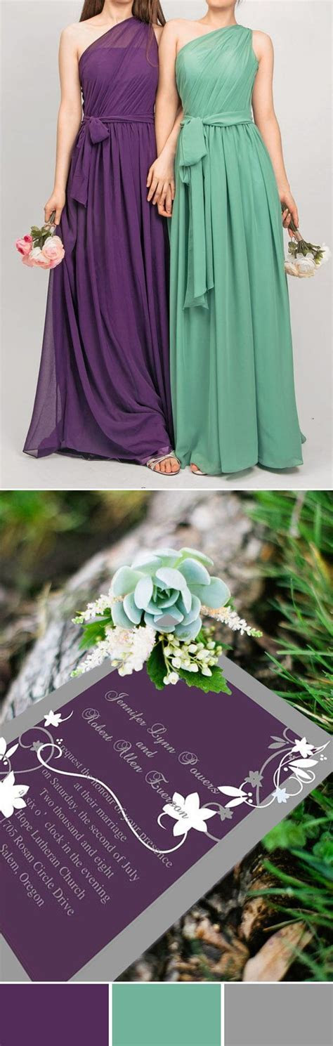 25  Best Ideas about Purple And Green Wedding on Pinterest