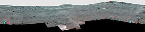 'Calypso' Panorama of Spirit's View from 'Troy...