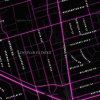 A detailed look at Yonge and Eglinton. Map by Garrett Miller and Eric Fischer.