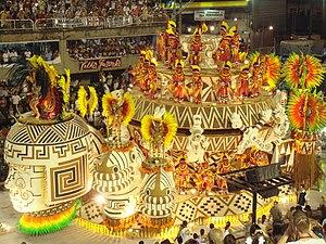 Português: Carnaval no Rio de Janeiro. English...