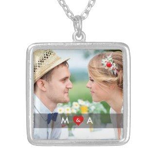 Monogram Heart Custom Necklace