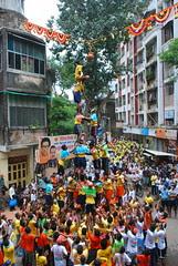 Dahi Handi Dadar 2009 by firoze shakir photographerno1