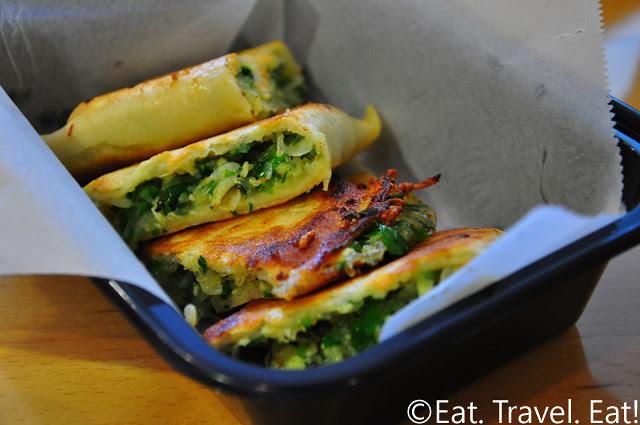 Easy Earthen, Rowland Heights, CA: Pan Fried Veggie Dumpling