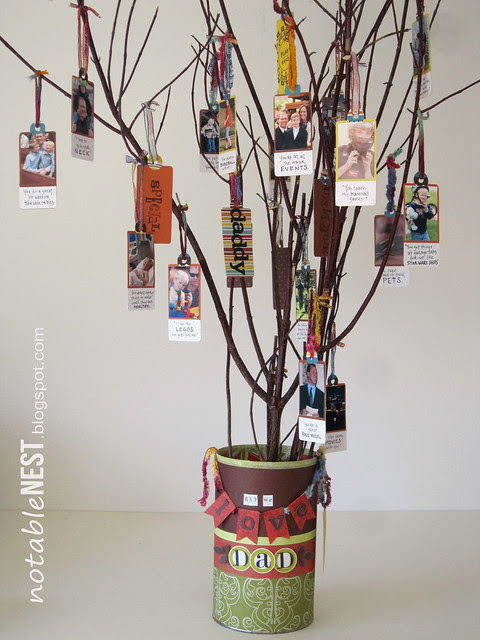 Fathers Day Reasons We Love Dad Tree