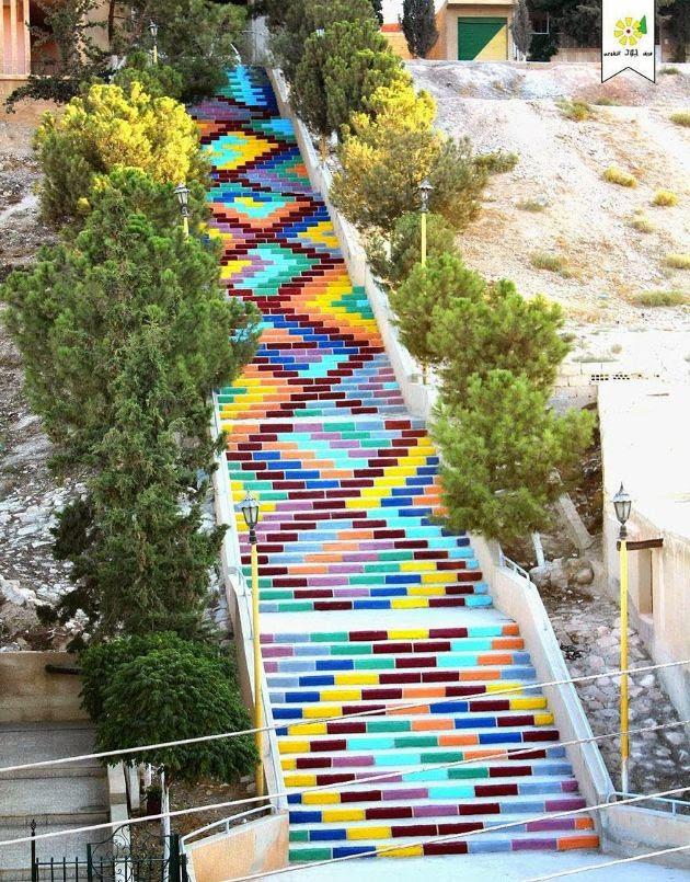tilestwra.com | 17 από τα πιο όμορφα σκαλοπάτια του κόσμου!