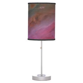 Monogram, Orion Nebula Pillars of Dust space image Desk Lamps