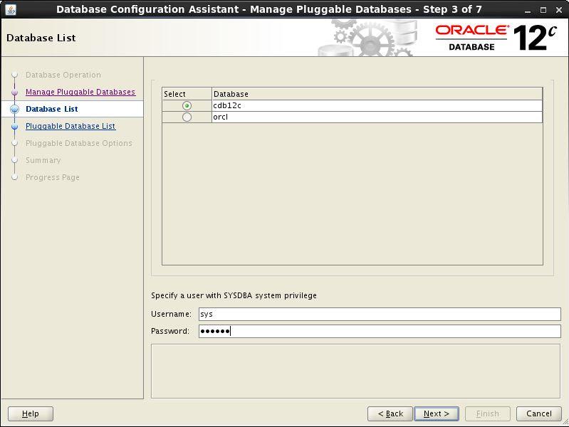 Configure PDB 2