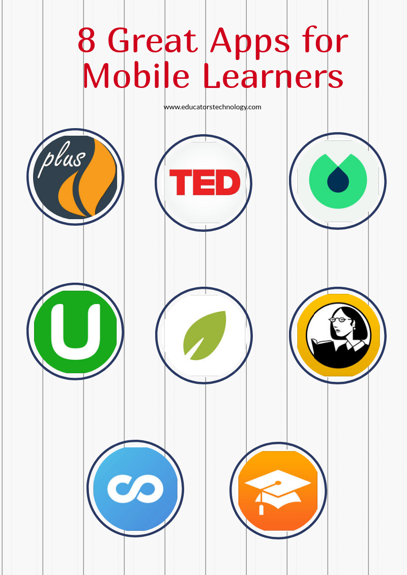 8 Great Apps for Mobile Learners
