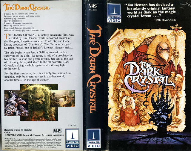 Dark Crystal (VHS Box Art)
