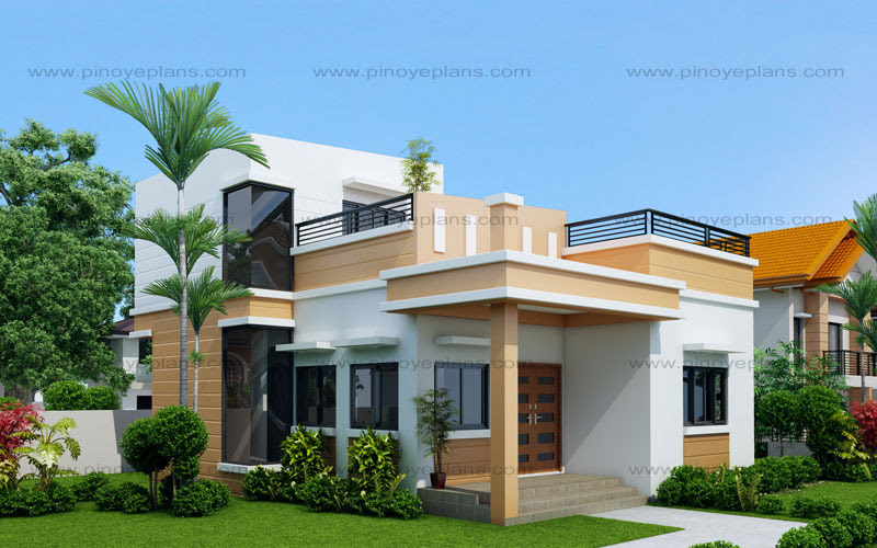 Maryanne  One Storey with Roof Deck SHD2015025  Pinoy