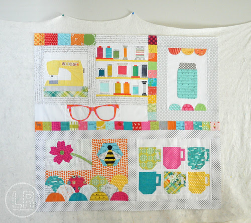 Circle 7 Bee | Courtney's Quilt