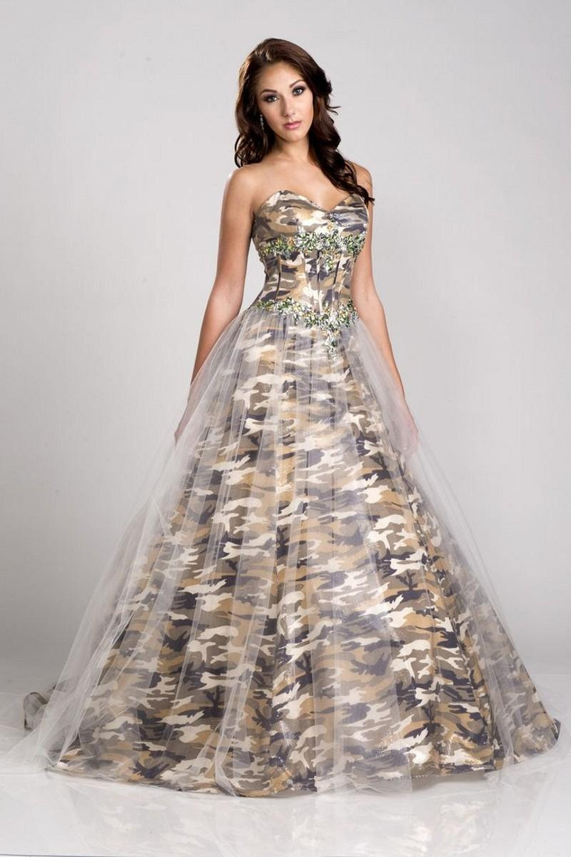 Marina Maitland Wedding Dress Camo Wedding Dress Pinterest