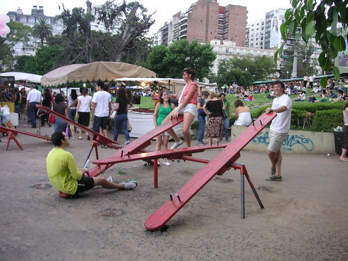 Older kids playing