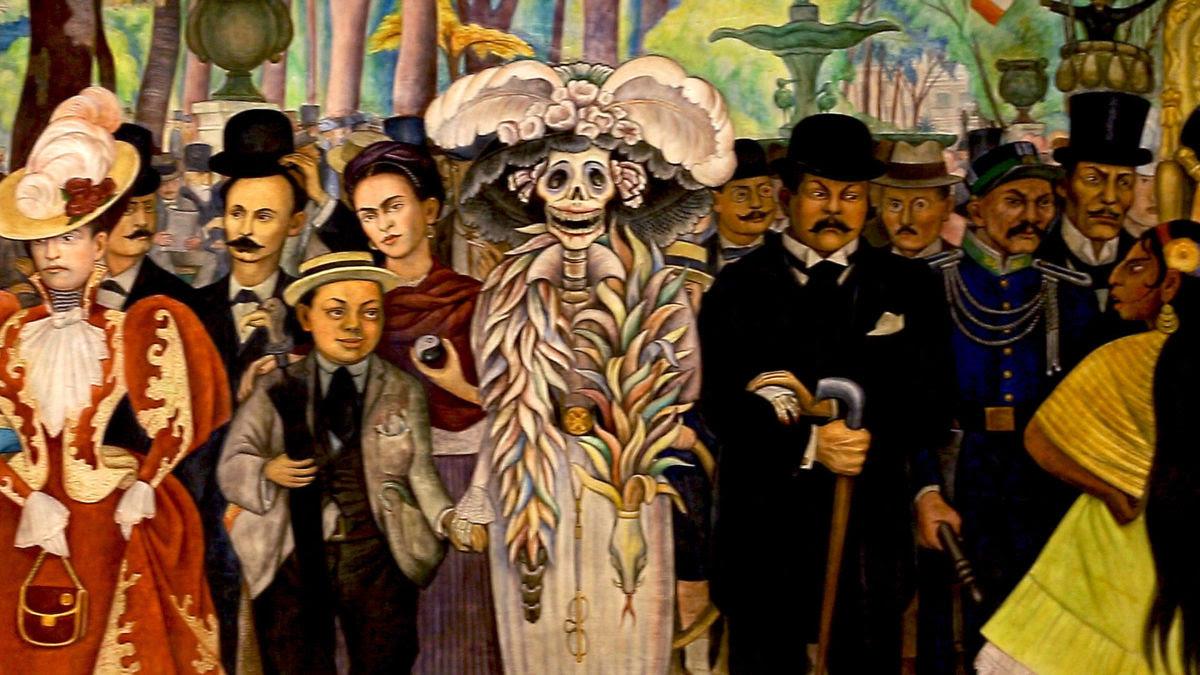 La Catrina Icono Del Dia De Muertos Gracias A Diego Rivera Plaza