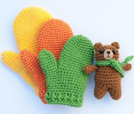 Kids Gifting Crochet Mittens - Crochet Patterns