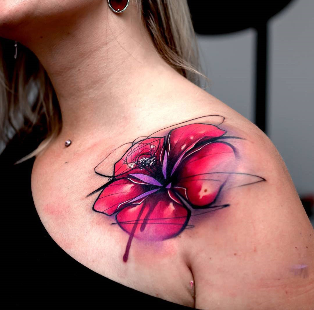 Lily Flower Tattoo Design Ideas Flowertattooideascom
