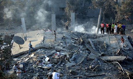Israeli airstrikes on Gaza
