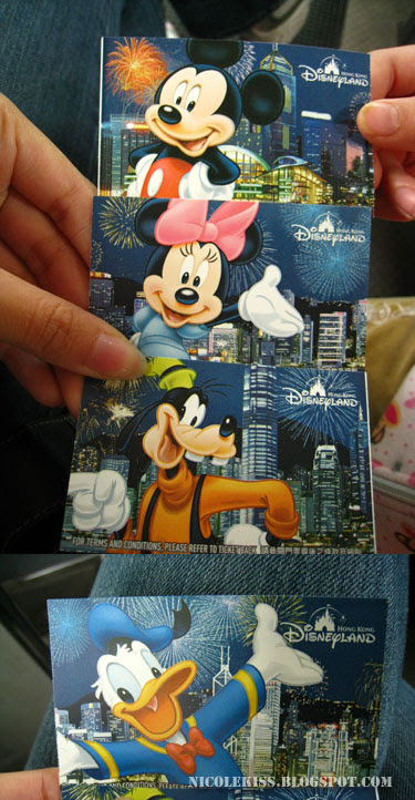 all the hk disneyland tickets