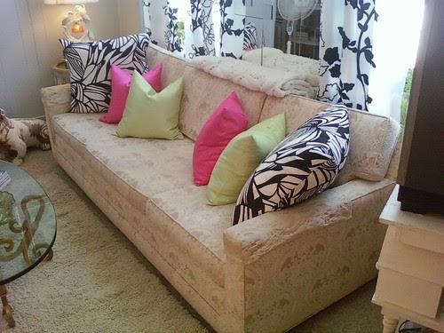 Mom's New Sofa Landscape
