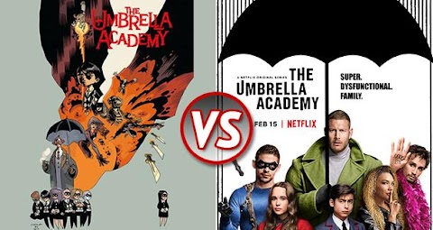 The Umbrella Academy Comics Vs Show
