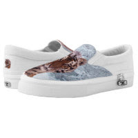 Tiger Zipz Slip On Sneakers, Printed Shoes