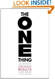 The One Thing by Gary Keller book cover