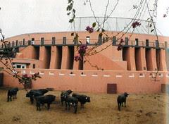 Toril de la plaza de toros de Acho