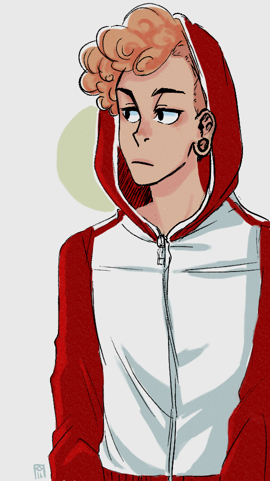 @redski Lars can rock hoodies